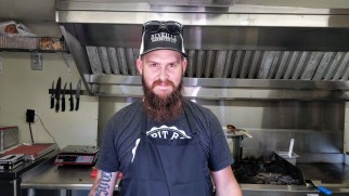 The pitmaster himself - James
