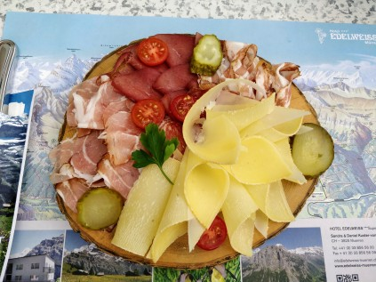 Alpine meats, cheeses and pickles - oh my!