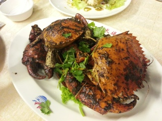 Black pepper crab - soooo delicious!!!