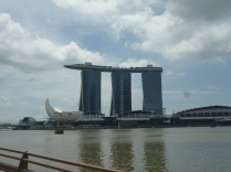 The incredible Marina Bay Sands Resort